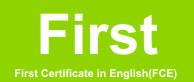 Cambridge English: First (FCE) for Schools